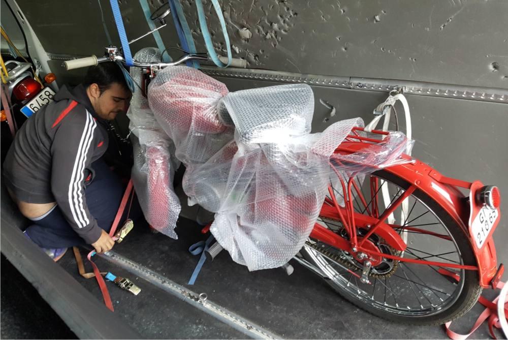 empresa transportar motocicletas España