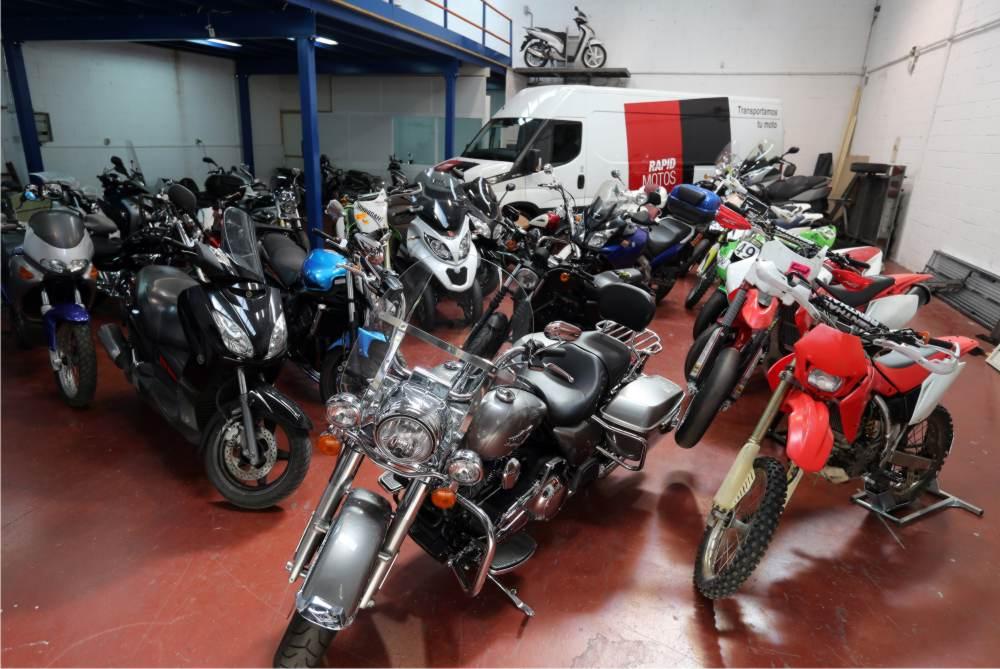 empresas transportar motos Madrid