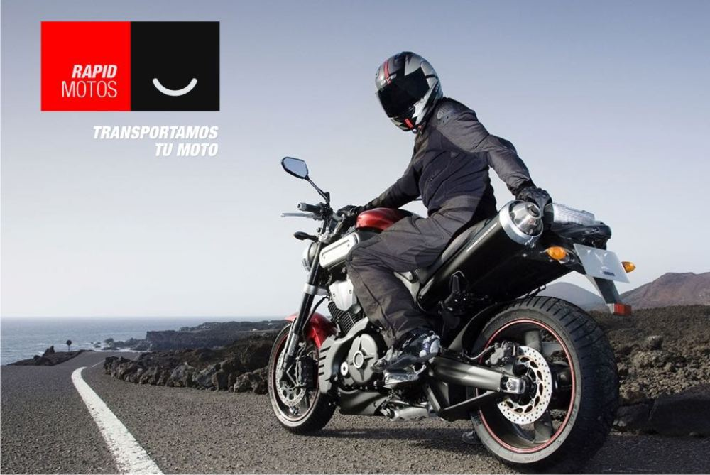 grúa moto averiada recogida carretera
