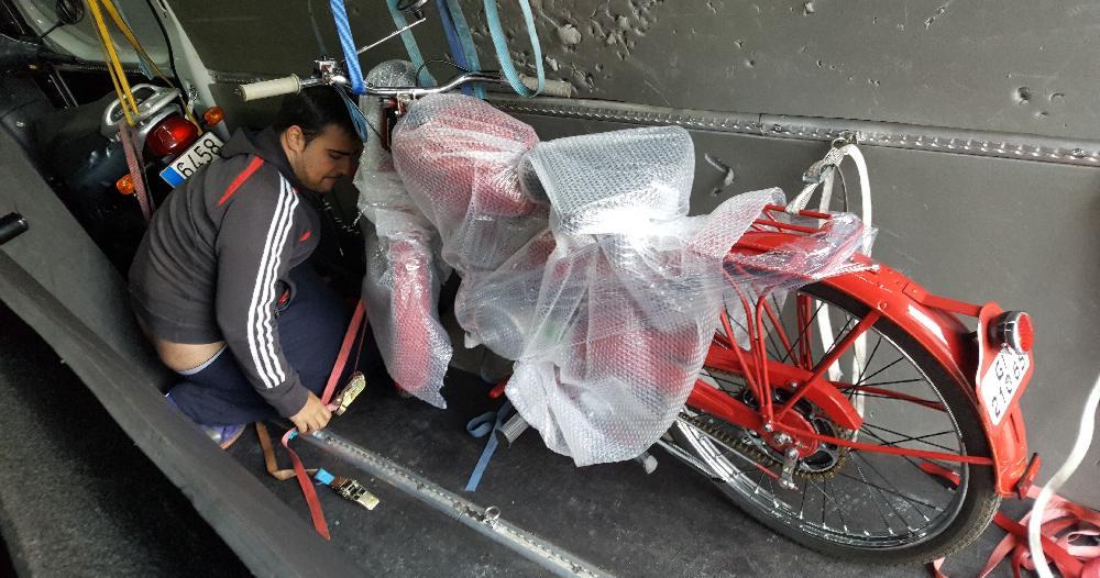 transportar vehículos ocio empresa