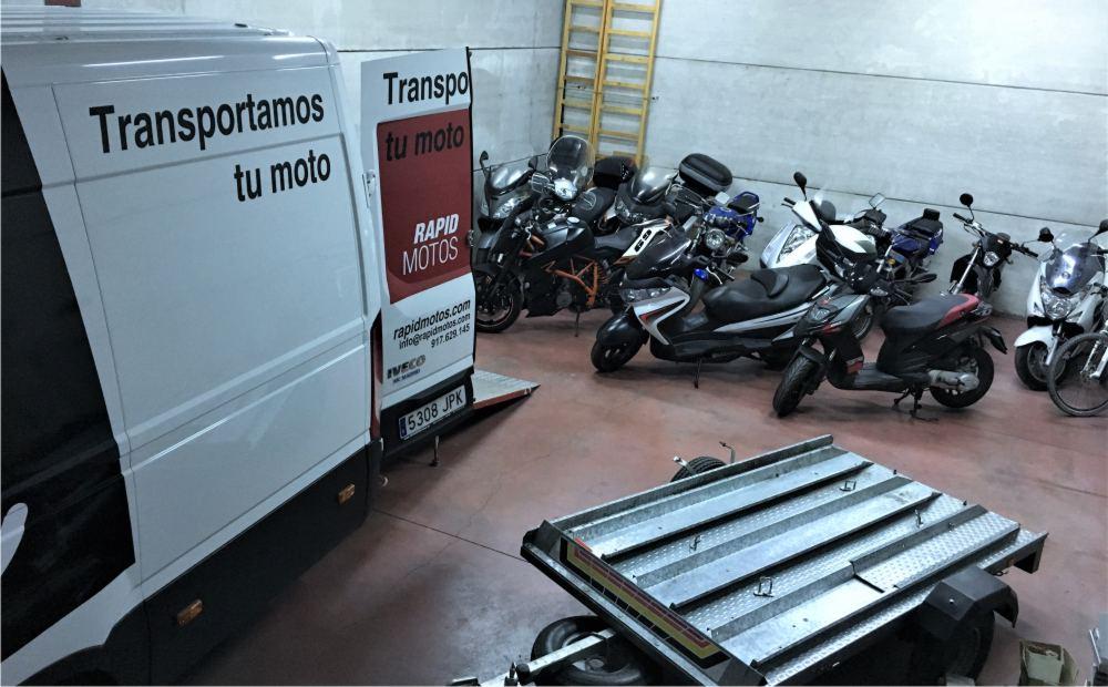 transporte vehículos itv taller