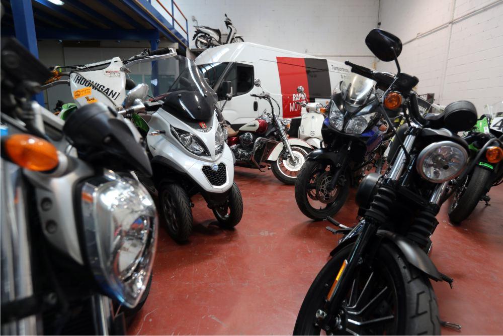 traslado de motos de una ciudad a otra