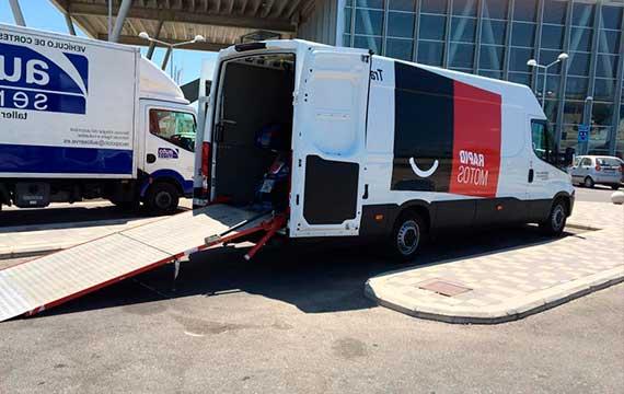 empresa de transporte de vehículos