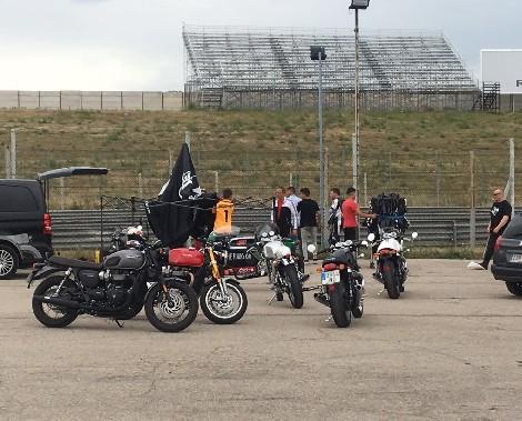 empresas transporte motos carreras Aragón
