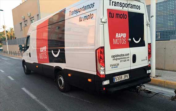 transportar vehículo a otra provincia